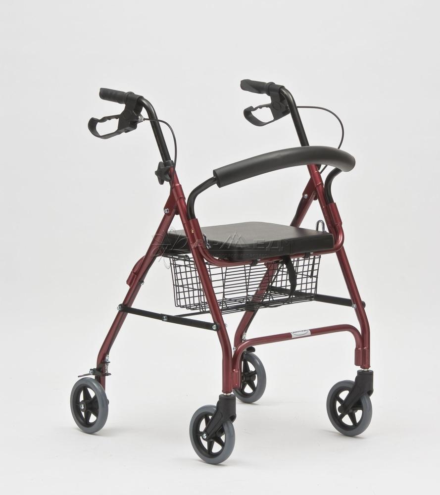 Ходунки взрослые на колесах Армед FS966LH купить, приобрести, продажа в Тюмени. Медтехника 72.