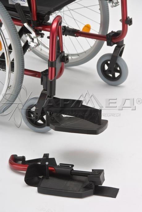 Облегченная алюминиевая инвалидная коляска Армед Fs251LHPQ. Купить, приобрести, продажа в Тюмени. Медтехника72.