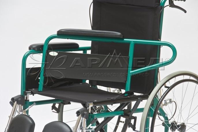 Инвалидная коляска с высокой опускающейся спинкой Армед Fs954GC. Медтехника72. Тюмень. Купить, приобрести, продажа.