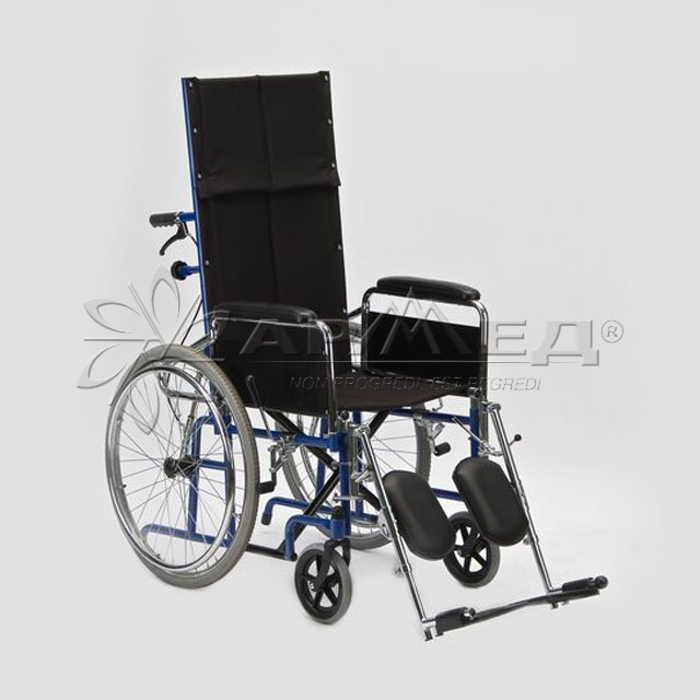 Инвалидная коляска с высокой спинкой Армед Н 008, купить, продажа, покупка в Тюмени.