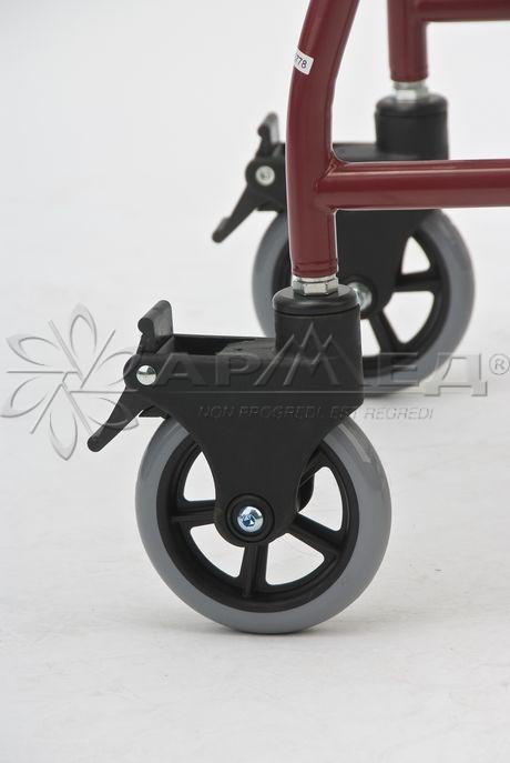 Кресло-туалет пассивного типа на колесах Армед Fs692. Тюмень. Медтехника72