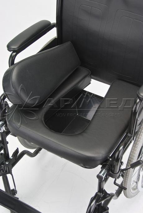Инвалидная кресло - коляска  с санитарным оснащением Armed H 011A купить, продажа, приобрести в Тюмени. Медтехника 72.