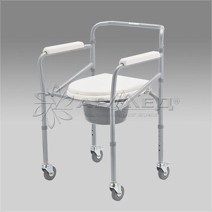Кресло - туалет с санитарным оснащением армед Fs 693. Купить в Тюмени. Медтехника 72.